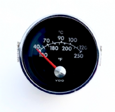 VDO Temperature Gauge 120 Celsius 24 Volt